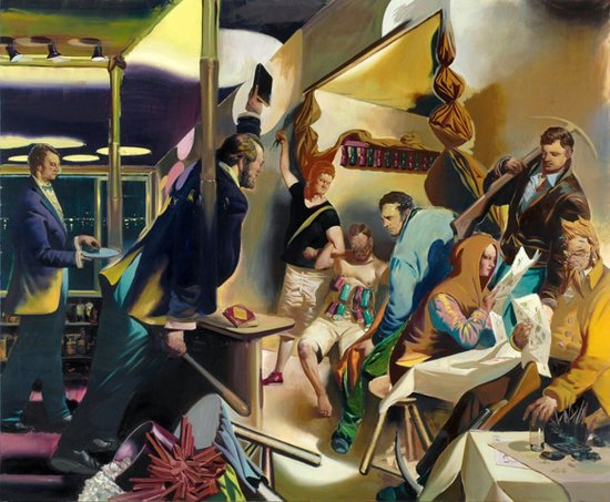 Neo Rauch, Ordnungshüter, 2008,Oil on canvas, 250 x 300 cm